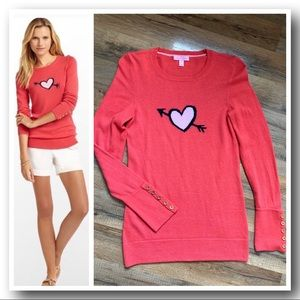 "Lilly Pulitzer ""Kiss Me Intarsia""Charter Sweater"